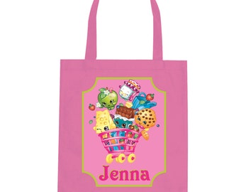 The Shopkins Personalized Tote Bag Grocery Bag