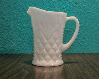 Milk Glass Creamer