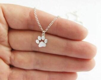 Footprints pendant necklace gift, necklace unisex necklace / / money / / 75% discount