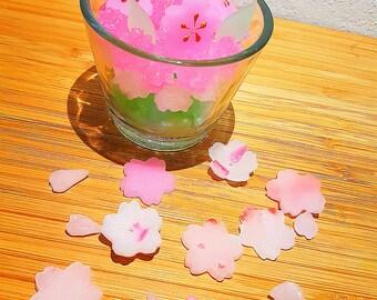 Sakura candle / cherry blossom candle/ sakura/ Japanese candle/ spring candle/ 桜キャンドル
