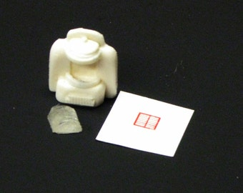 1:25 G scale model resin diner restaurant table top juke box