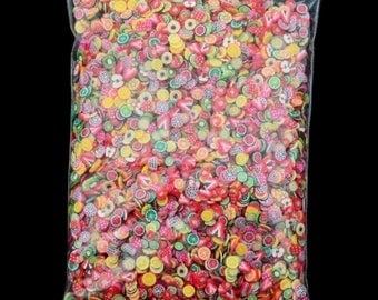 1000 Fruit Fimo Slices
