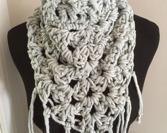 Oversized Kerchief scarf