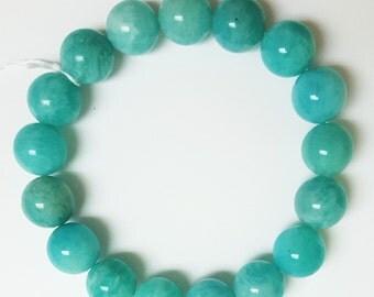 Amozonite Bracelet, Amozonite  Beads