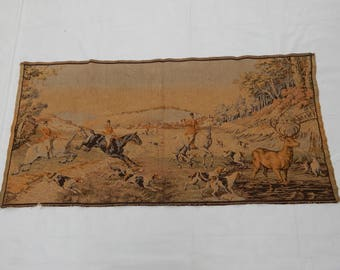 Vintage French Beautiful  Tapestry (222)