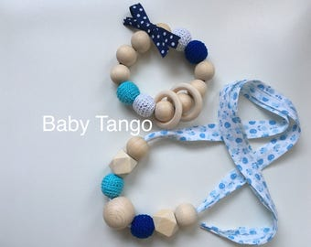 SET Breastfeeding Necklace & Teething Toy