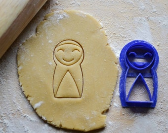 Happy Nun Cookie Cutter, Liturgical Living, Saint Imaginative Play