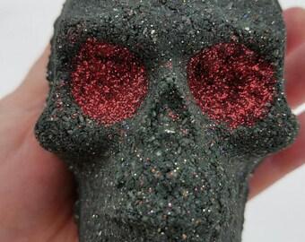 how to make a skull bath bomb