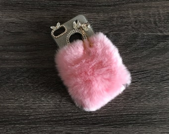 Fur and Bling iPhone 7 phone case