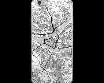 Pittsburgh iPhone Case, Pittsburgh Phone Case, Pittsburgh Paris, Pittsburgh PA Phone Case, Pittsburgh iPhone 5 Case, iPhone 6, Art, Gift