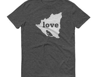 Nicaragua, Nicaragua Clothing, Nicaragua Shirt, Nicaraguan T Shirt, Nicaragua TShirt, Nicaragua Map, Nicaragua Gifts, Made in Nicaragua