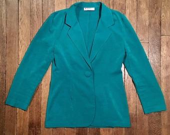 Jacket blazer vintage fluid