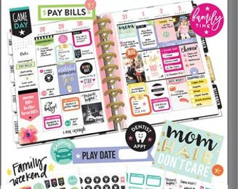 Mom Sticker Value Pack - MAMBI Happy Planner Stickers - Mom Life