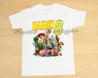 Toy Story Birthday Shirt, Toy Story Shirt, Personalized Toy Story Shirt, Toy Story TShirt, Toy Story Birthday, Disney Shirts