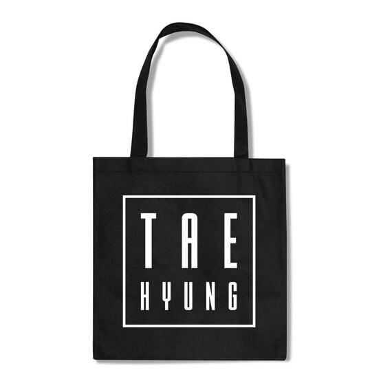 BTS Bangtan Boys Tae Hyung Fan KPOP Totebag