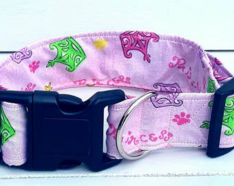Pretty paw princess dog collar size extra large