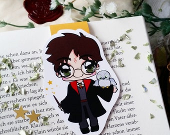 Magnetic bookmark 'Harry Potter' - inspired by Harry Potter