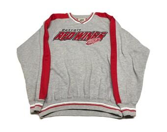 Detroit Red Wings Crew Neck Size (Medium)