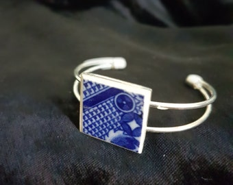 Up Cycled BLUE and WHITE CROCKERY