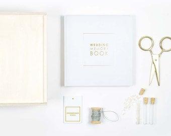 Wedding memory box wedding memory book wedding gift