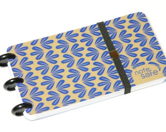 """Notebook, """"Note safe"""", Notepad, memo, Notepad, Discbound, handmade (ORN-002)"""