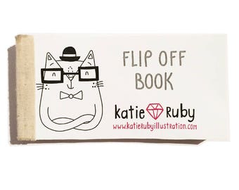 Limited Edition Handmade Flip Off Book