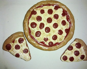 Pepperoni Pizza Set- Barbie Food