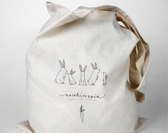 Cotton Shopping Bag | Rabbit