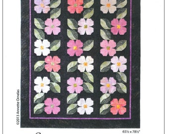Carolina Dogwood Quilt Pattern