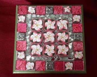 Frangipani Jewellery Box
