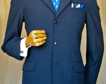 Gents tailored high class 60's suit with cloth belt