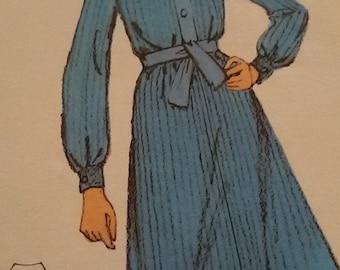 Dress vintage blouse size 40/french vintage dress