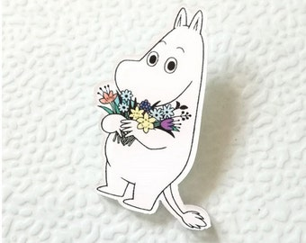 Moomin Moomin - patch - lapel pin