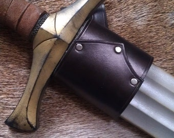 LARP right handed scabbard for latex sword
