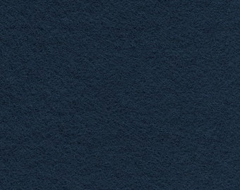 Classic Navy Craft Felt Fabric - Kunin Felt - Blue Crafting Felt