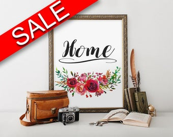 Wall Art Home Sign Digital Print Home Sign Poster Art Home Sign Wall Art Print Home Sign Home Art Home Sign Home Print Home Sign Wall Decor