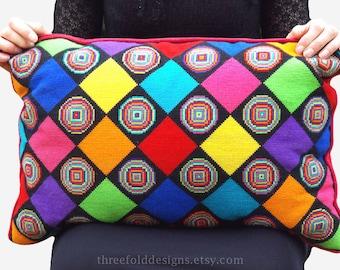 SALE - Colourful Cross Stitch Kit Diamonds