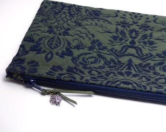 Evening Cosmetic Bag - Silk Brocade