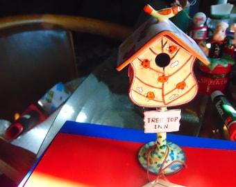 Kevin Chen enamel desk/trinket box signed and numbered