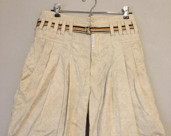 Z Cavaricci High Waisted 1980s Shorts