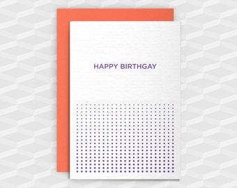 Rude Birthday Cards|Happy Birthday Rude|HAPPY BIRTHGAY|Rude Greetings Card|Crude Birthday Card|Sarcasm Cards|Inappropriate Card|Gay Birthday
