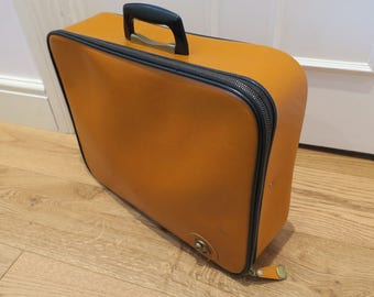 Vintage Orange Weekend Bag