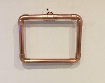 Towel Style handmade brass industrial door