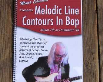 Melodic Line Contours In Bop - With DVD