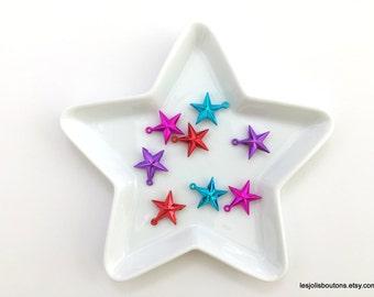 8x star charms