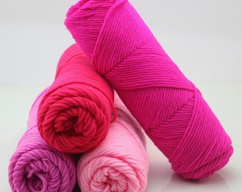 wholesale 10 balls/lot 500g natural soft silk milk cotton yarn thick yarn for knitting baby wool crochet yarn weave thread