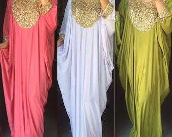 Kaftan dress. Made to order