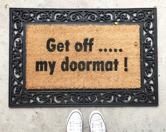 Unique Funny Doormat Related Items Etsy