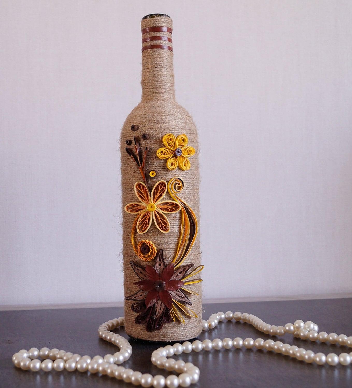 Wine Bottle Home Decor: Wine Bottle Decor Decorated Wine Bottles Home Wine Bottle