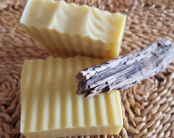 Grapefruit & Cedar Shea Butter Soap